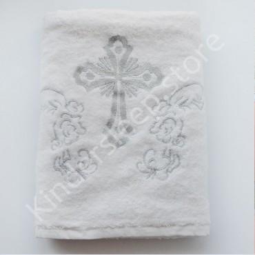 Крыжма крестильная с вышивкой 140/70