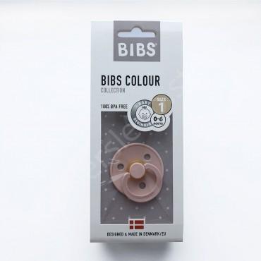 Пустышка (соска) Bibs Colour Blush (0-6 мес) Румяна