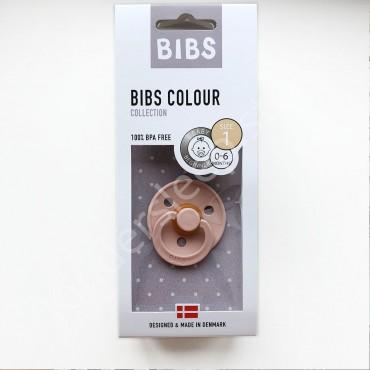 Пустышка (соска) Bibs Colour Peach (0-6 мес) Персик