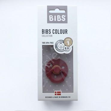 Пустышка (соска) Bibs Colour Whine (0-6 мес) Вино