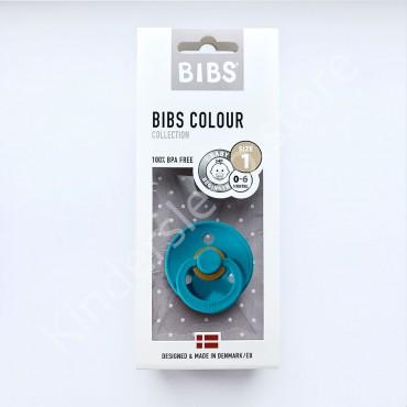 Пустышка (соска) Bibs Colour Dark teal (0-6 мес) Темно-бирюзовый