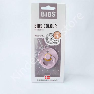 Пустышка (соска) Bibs Colour Dusky lilac (0-6 мес) Пыльная Лилия