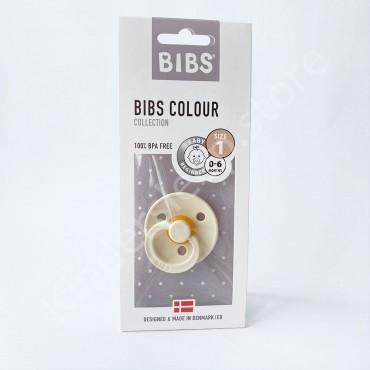Пустышка (соска) Bibs Colour Ivory (0-6 мес) Слоновая кость