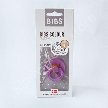 Пустышка (соска) Bibs Colour Lavander (0-6 мес) Лаванда