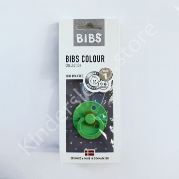 Пустышка (соска) Bibs Colour Lime (0-6 мес) Лайм