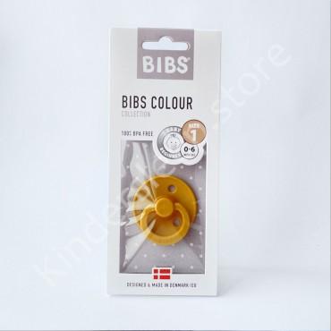 Пустышка (соска) Bibs Colour Mustard (0-6 мес) Горчица