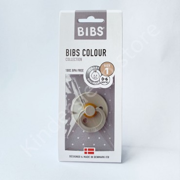 Пустышка (соска) Bibs Colour Sand (0-6 мес) Песок