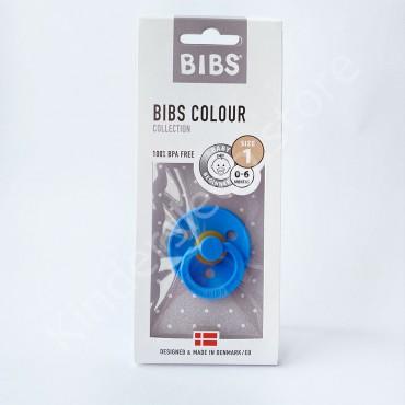 Пустышка (соска) Bibs Colour Sky blue (0-6 мес) Небесно голубой