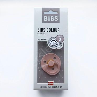 Пустышка (соска) Bibs Colour Blush (6-18 мес) Румяна
