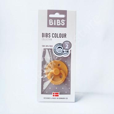 Пустышка (соска) BIBS Honey Bee (6-18 мес) Пчела