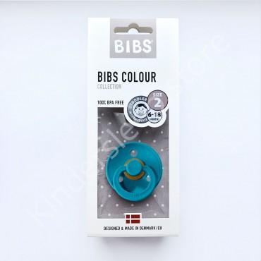 Пустышка (соска) Bibs Colour Dark teal (6-18 мес) Темно-бирюзовый
