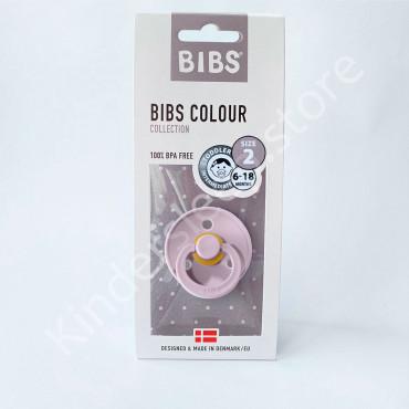 Пустышка (соска) Bibs Colour Dusky lilac (6-18 мес) Пыльная Лилия