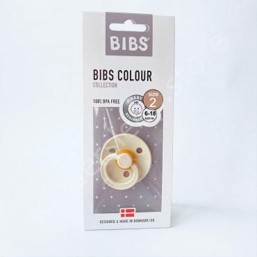 Пустышка (соска) Bibs Colour Ivory (6-18 мес) Слоновая кость