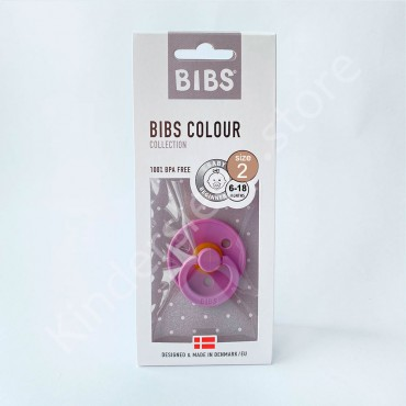 Пустышка (соска) Bibs Colour Lavander (6-18 мес) Лаванда