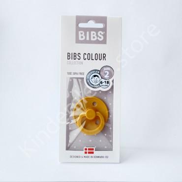 Пустышка (соска) Bibs Colour Mustard (6-18 мес) Горчица