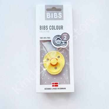 Пустышка (соска) Bibs Colour Pineapple (6-18 мес) Ананас