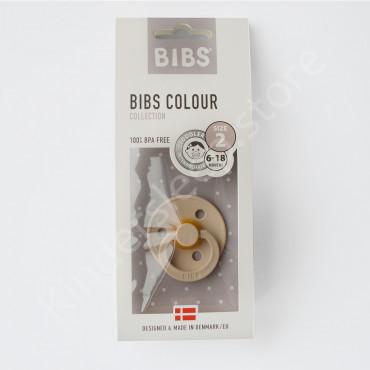 Пустышка (соска) Bibs Colour Vanilla (6-18 мес) Ваниль
