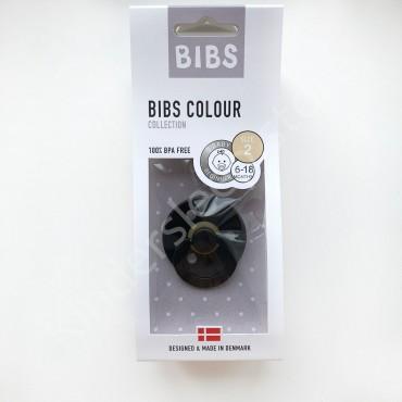Пустышка (соска) Bibs Colour Black (6-18 мес) Черный