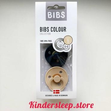 BIBS Deep space/Beige Космос/Бежевый  (2 в упаковке)
