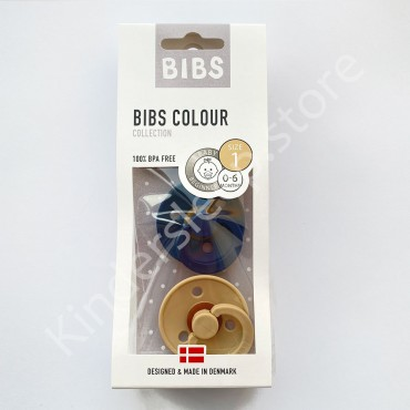 Пустышка (соска) Bibs Colour Space/Beige (0-6 мес) Космос/Бежевый