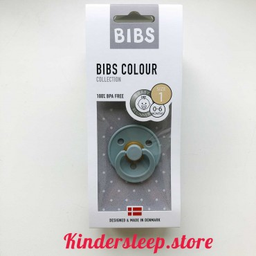 Пустышка Bibs Colour Island Sea (0-6 мес)
