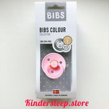 Пустышка Bibs Colour Pink (0-6 мес)