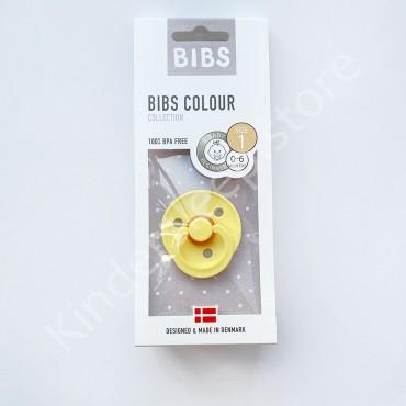 Пустышка (соска) Bibs Colour Pineapple (0-6 мес) Ананас