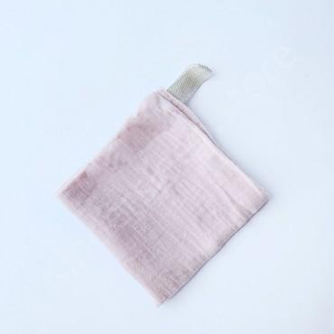Салфетка полотенце муслиновое, цвет Розовый