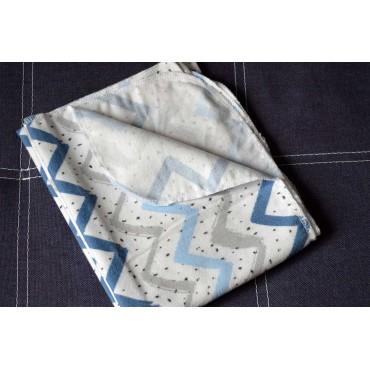 Фланелевая пеленка «Зигзаг»