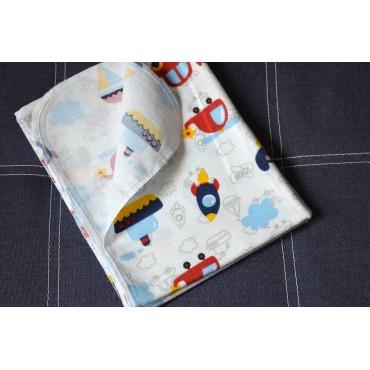 Фланелевая пеленка 100х80 см «For a boy»