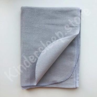 Фланелевая пеленка «Однотон»  серая