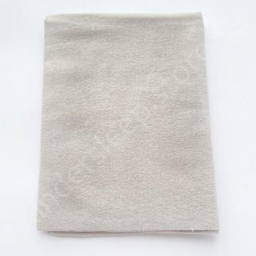 Фланелевая пеленка 100х80 см «Однотон» серая