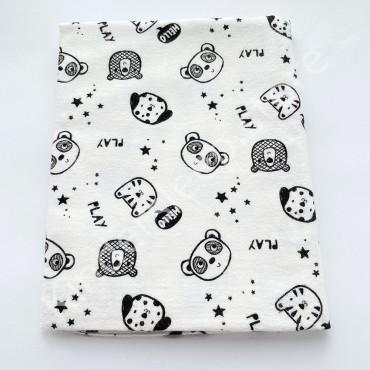 Фланелевая пеленка 100х80 см «Play»
