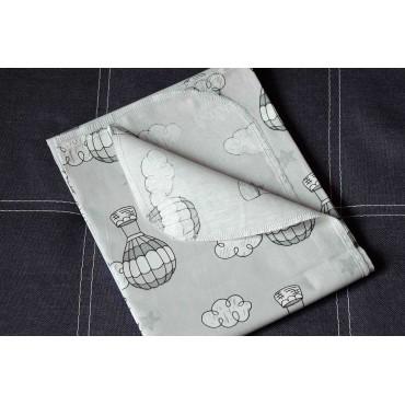 Хлопковая многоразовая пеленка «Воздушные шары»