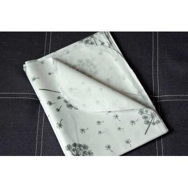 Хлопковая многоразовая пеленка «Одуванчики»