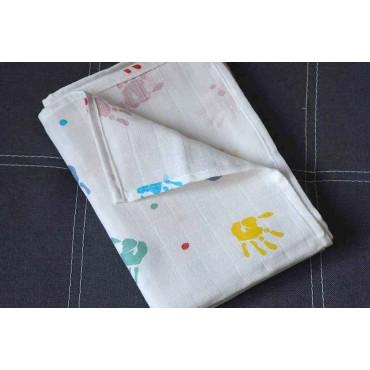 Муслиновая пеленка «Руки»