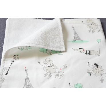 Непромокаемая пеленка «Французский пудель»
