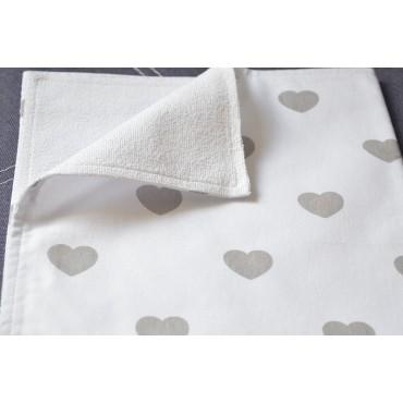 Непромокаемая пеленка «Сердечки»