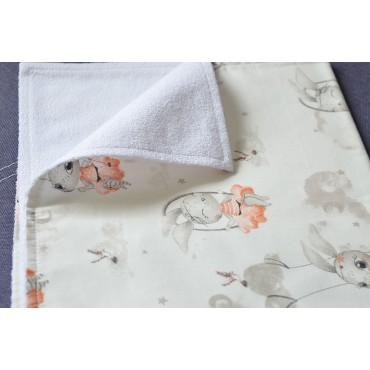 Непромокаемая пеленка «Зайки»