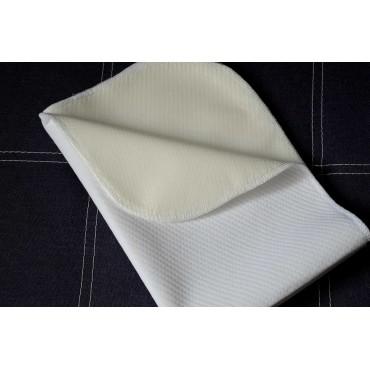 Непромокаемая пеленка 95х65, Белая