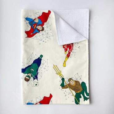 Непромокаемая пеленка 70х50 см, Сатин, «Супергерои»