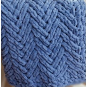 Плед Puffy плетение Паркет 60х80