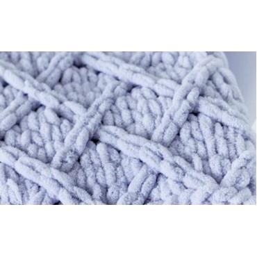 Плед Puffy плетение Ромбы 60х80