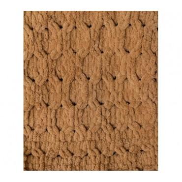 Плед Puffy плетение Соты 60х80