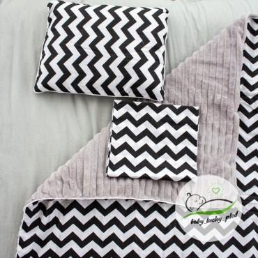 Набор в коляску (кроватку) 3 предмета «Зигзаг»