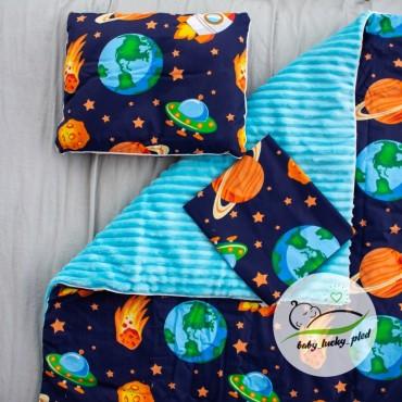 Набор в коляску (кроватку) 3 предмета «Космос»