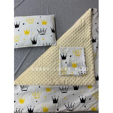Набор в коляску (кроватку) 3 предмета «Короны»