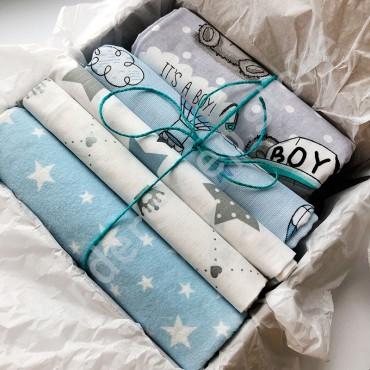 Kinder Sleep box Пеленки №1, для мальчика