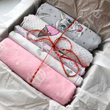 Kinder Sleep box Пеленки №1, для девочки