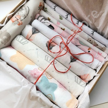 Kinder Sleep box Пеленки №2, для девочки